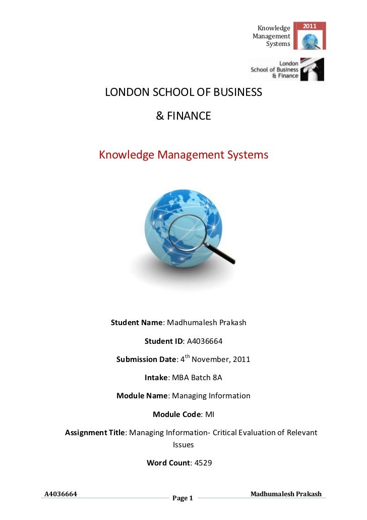 Knowledge    2011                                                         Management                                      ...