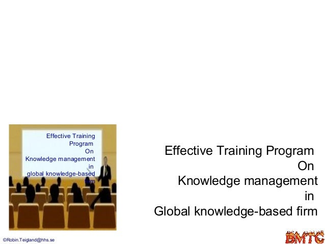 Knowledge management in-global-firm
