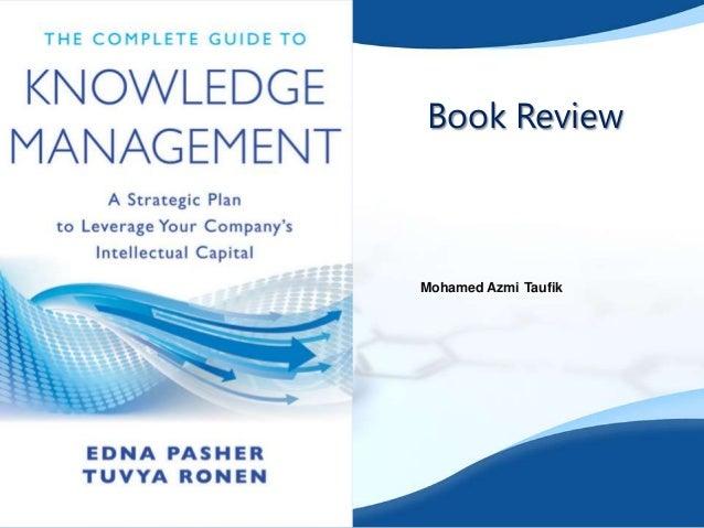 Book Review  Mohamed Azmi Taufik