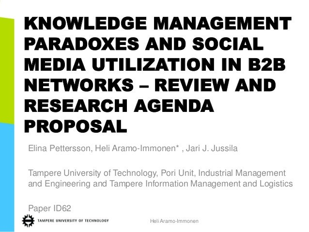 Phd research proposal in technology management