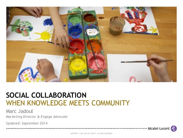 Knowledge meets Community (2013)