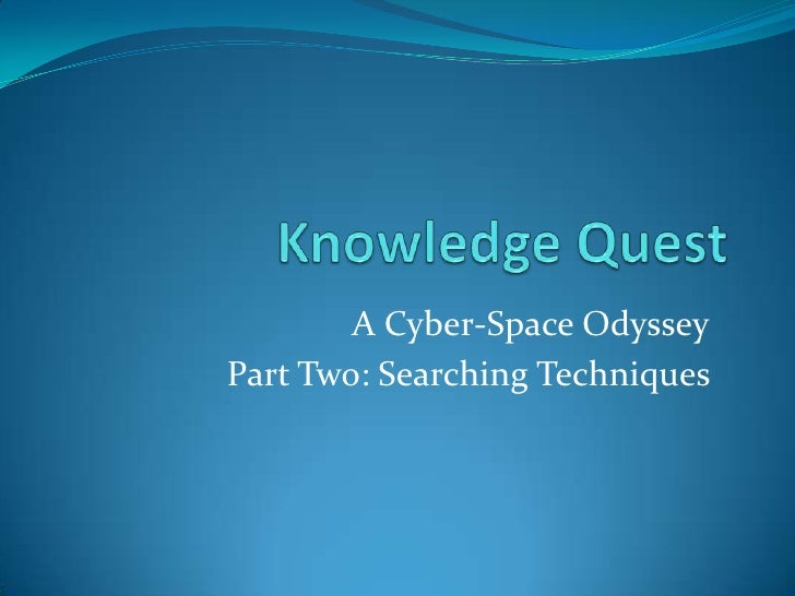 Knowledge Quest Navigating The Rough Waters Of The Internet