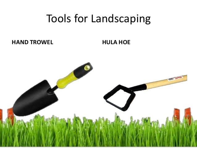 Image gallery landscaping hand tools for Basic garden maintenance