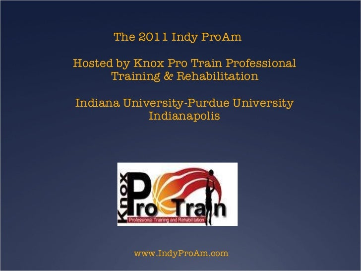 Knox protrain2011camp