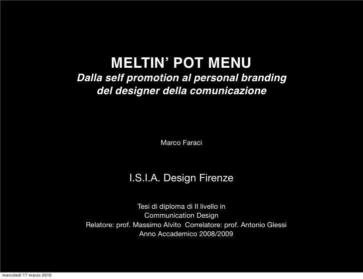 MEltin' pot MEnu