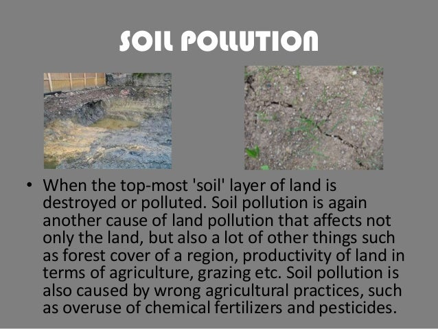 short essay about land pollution Land pollution essay facing a number of health problems caused due to the pollution of land, water and air talking about land pollution, it has some of the most devastating effects on both nature and living beings land pollution is  land pollution is the deterioration.
