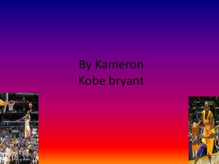 Kobe Bryant Slide Show