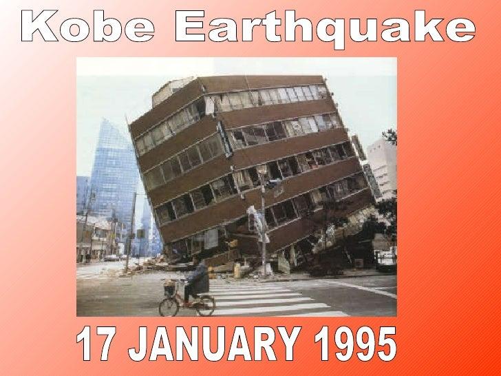 17 JANUARY 1995 Kobe Earthquake