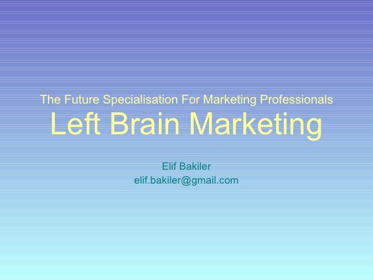 Left Brain Marketing