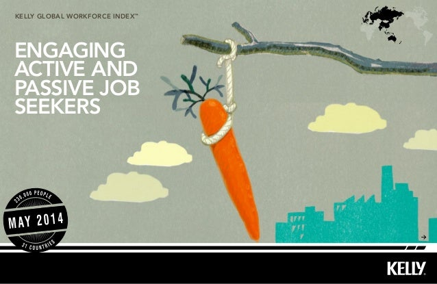 kelly Global workforce index™ ENGAGING ACTIVE AND PASSIVE JOB SEEKERS