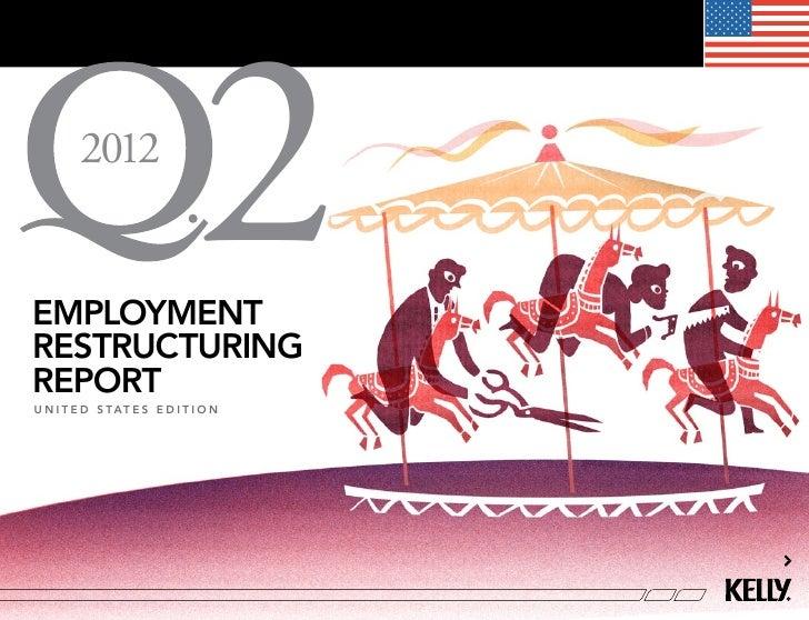 U.S. Employment Restructuring Report Q2 2012