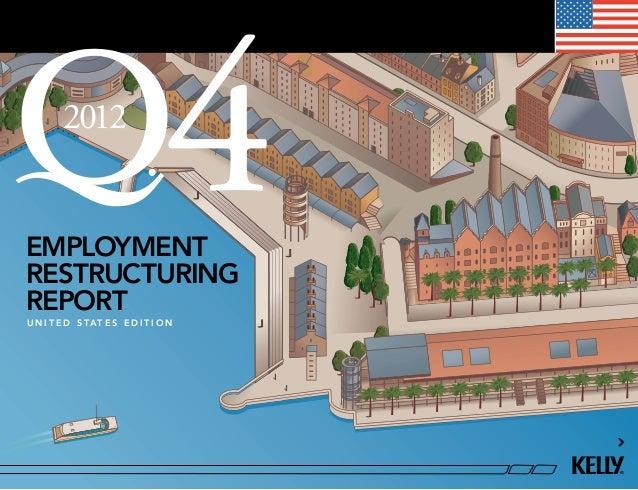 U.S Employment Restructuring Report Q4 2012