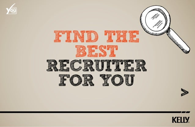 Find the best Recruiter for you