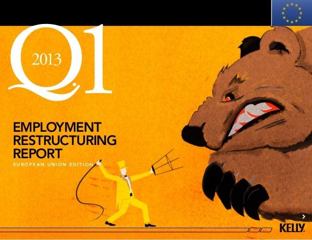 2013employmentrestructuring               1reporteuropean union edition