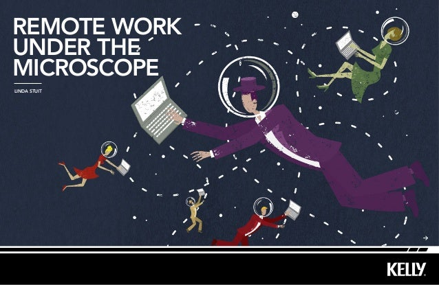 remote workunDer themicroscopeLinda Stuit