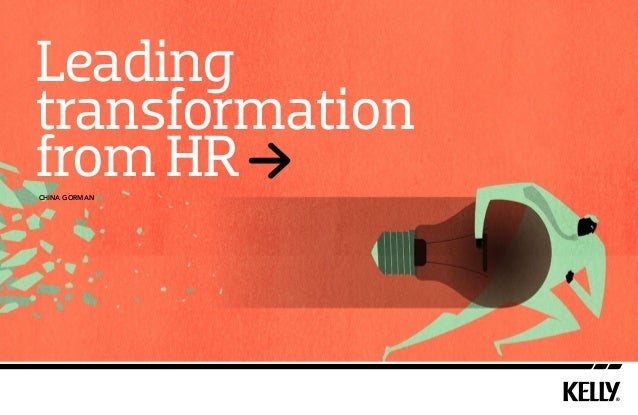 Leading transformation from HR china gorman