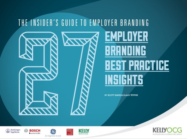 The Insiders Guide to Employer Branding - 27 Best Practice Insights