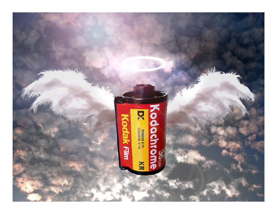 On the 22th of June 2009, Kodak  announced that Kodachrome will   be terminated.