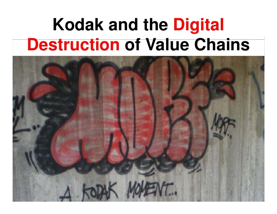 Kodak and the Digital Destruction of Value Chains