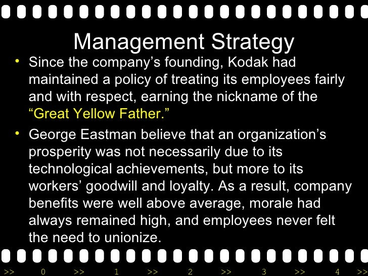 Analyzing Managerial Decisions: Eastman Kodak