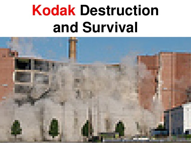 Disruptive Innovation, Kodak and digital imaging