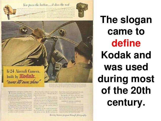 hidden reasons for kodak s digital revolution Recent commentary & analysis and highlights an interesting hybrid solution in the form of m&r's digital squeegee read about kodak's commitment to the.