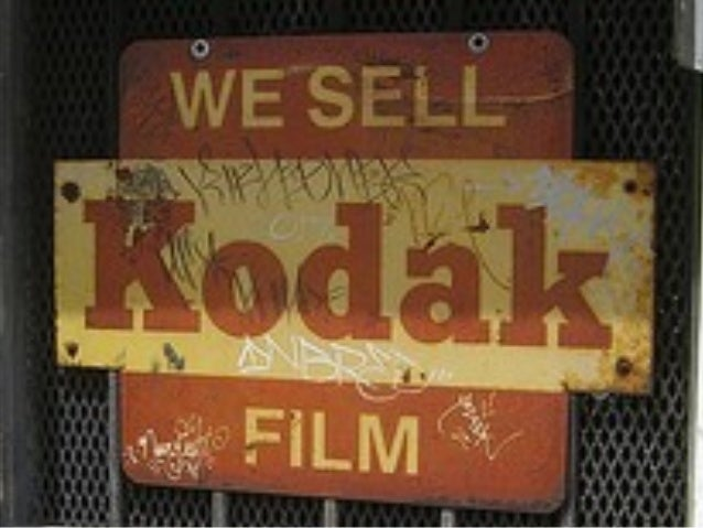 Kodak, Disruptive Innovation   and the Stock Market