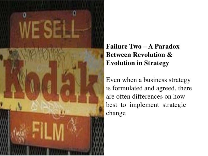 kodak the digital revolution Kodak's decision to file for bankruptcy protection is a sad, though not unexpected, milestone for an american corporate icon that pioneered consumer.