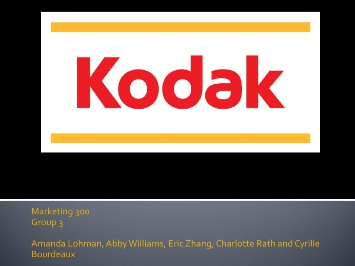 kodak vs fuji case study solution