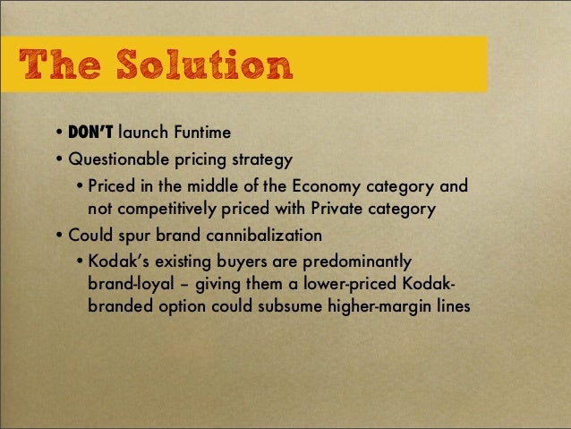 eastman kodak funtime film case study Eastman kodak company funtime film essayoctober, 2009 case study 4 summary: eastman kodak company – funtime film question.