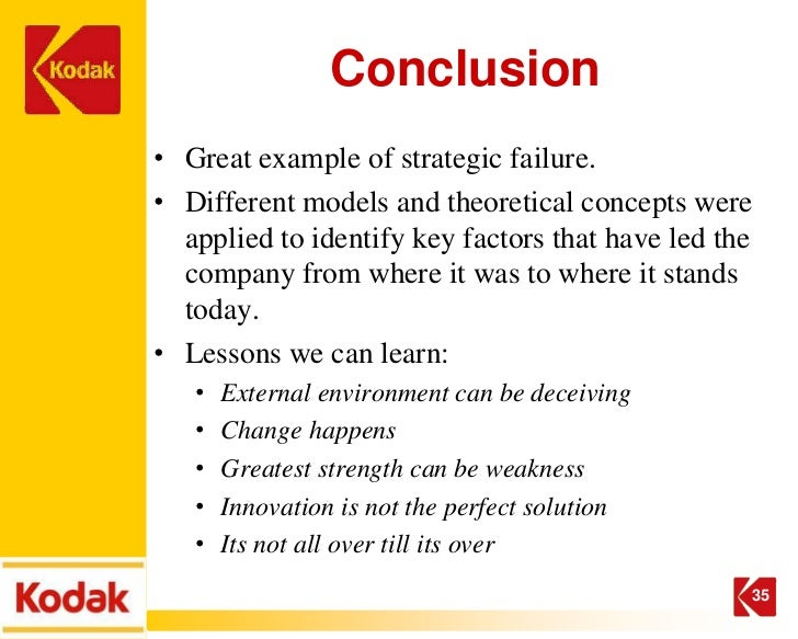 Kodak and the Digital Revolution (A) Case Solution & Analysis