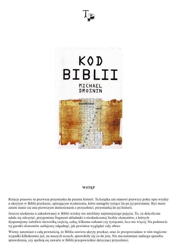 WSTĘP   Relacje prasowe to pierwsza przymiarka do pisania historii. Ta książka zaś stanowi pierwszy pełny opis wiedzy o uk...