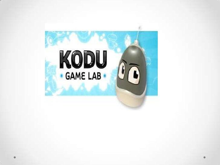 Contenido ¿Qué es Kodu? ¿Cómo diseñar un juego? ¿Cómo utilizar a Kodu?   • Funciones   • Tutorial 1