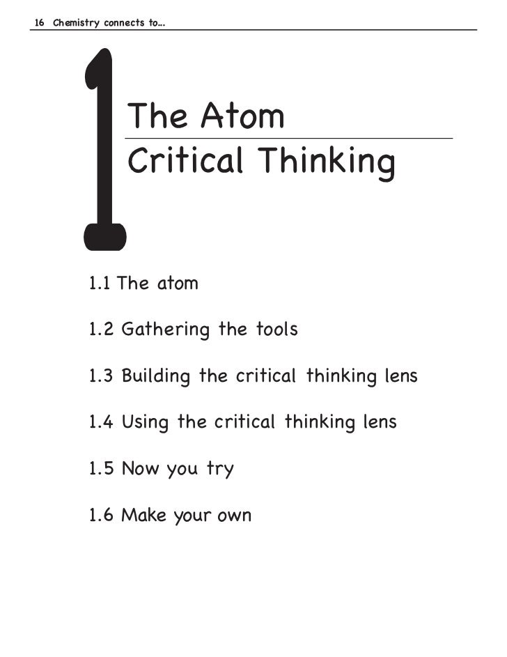 critical thinking is not a matter of accumulating information 9 entrepreneur lessons not taught in the classroom reflectively, and independently critical thinking is not just accumulating information.