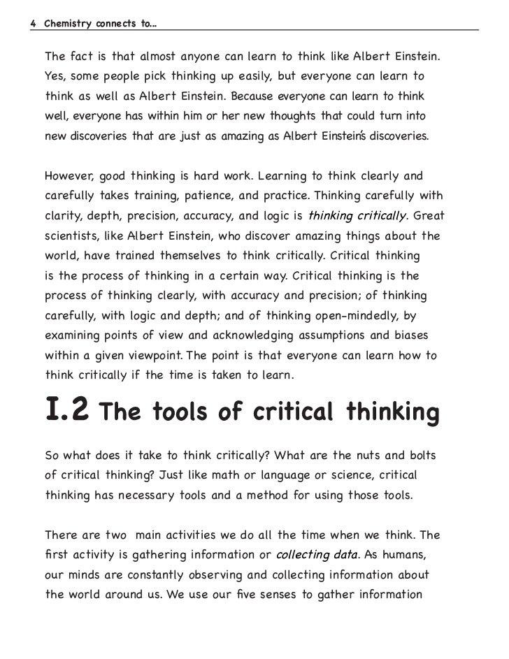 biases and assumptions essay