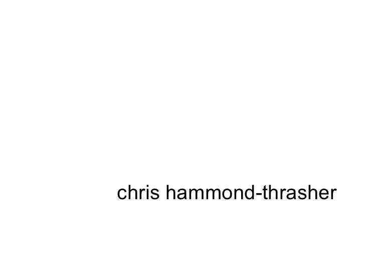 chris hammond-thrasher