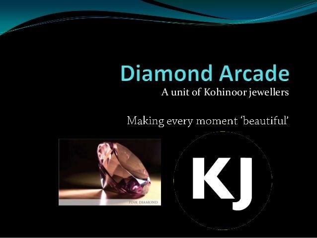 A unit of Kohinoor jewellers