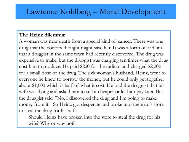 an analysis of the philosophy of moral development by lawrence kohlberg