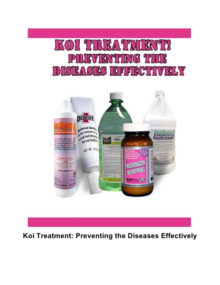 Koi Treatment: Preventing the Diseases Effectively