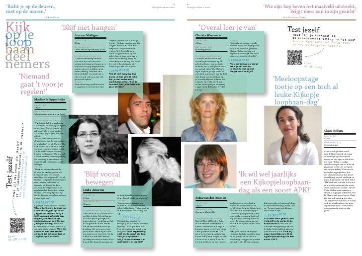 Interview met Alfa@work over de arbeidsmarkt door Kojlb Krant 2012