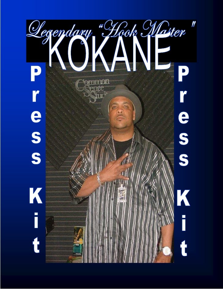 Kokane has been involved with the West Coast rap scene since the dawn of gangsta rap and has stayed consistent in the indu...