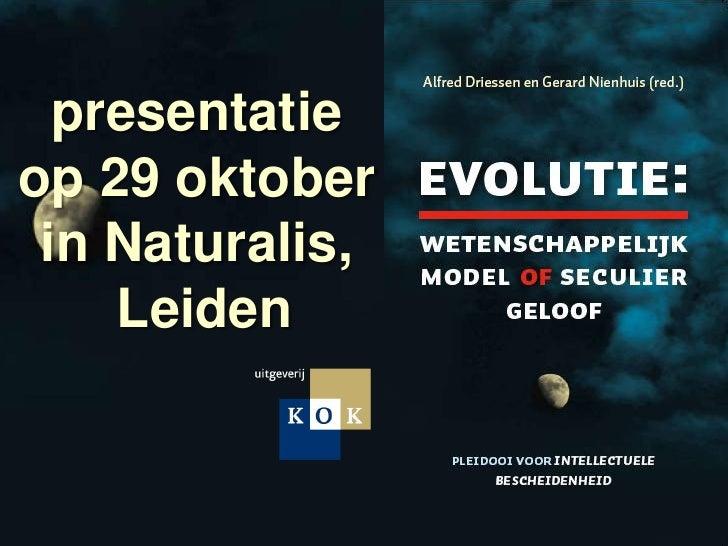 Evolutie: wetenschappelijk model of seculier geloof