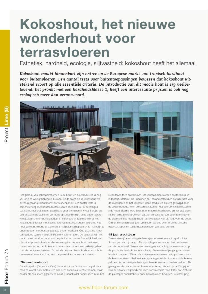 Kokoshout, het nieuwe wonderhout voor terrasvloeren