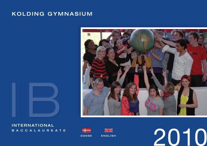 Kolding Gymnasium A5 Ib Web
