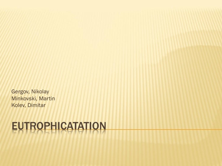Kolev gergov minkovski_10-3_eutrophication