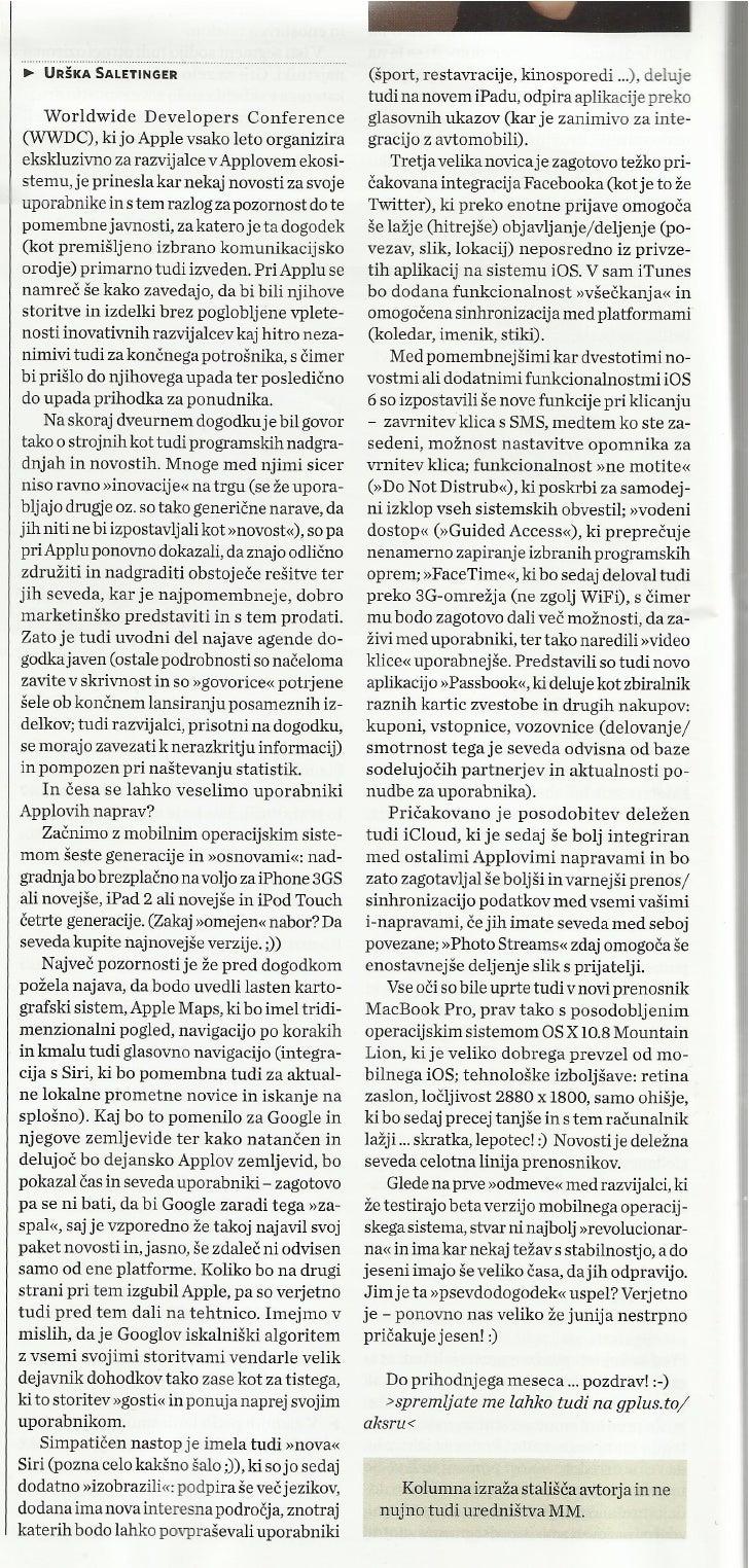 WWDC 2012 in novosti iz Applovega sveta_Marketing Magazin_jul2012_st.374_str.16