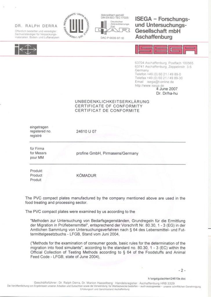 Akkreditiert gemäß                                                                                      DIN EN ISO IIEC 17...