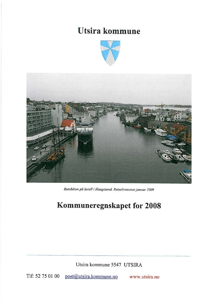 Kommuneregnskap 2008