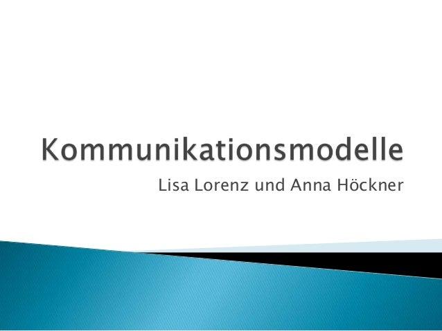 Lisa Lorenz und Anna Höckner