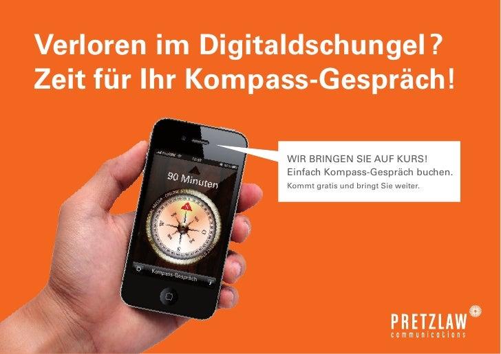 Kompass Gespräch von Pretzlaw Communications